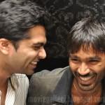 Simbu, Dhanush at Jaggubhai Premiere Stills
