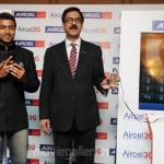 Surya Launches Aircel 3G Phones Stills, Suriya @ Aircel 3G Launch Photo Gallery