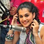 Tapasee Pannu @ BIG FM Stills, Tapsee at 92.7 BIG FM Photos
