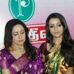 Trisha Gifts Pothys Silk Expo Contest Winners Event Stills