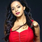 Bhavana Hot Photo Shoot in Red Dress