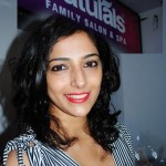 Nishanthi Evani @ Naturals Family Salon Spa Launch