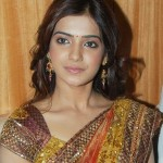 Samantha Latest Cute Pics in Traditional Silk Saree