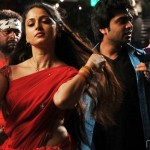Vaanam Anushka with Simbu Stills