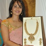 Anushka @ MBS Jewellers Patny Center Showroom Inauguration Stills