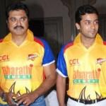 Stars at Chennai Rhinos Team Launch Stills