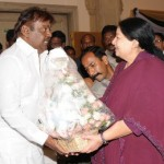 DMDK Vijayakanth @ Tamilnadu CM Jayalalitha Sworn In Ceremony