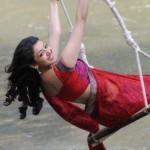 Kajal Unseen Saree Hot Stills