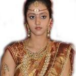 Lakshmi Pranathi Marriage Saree Pics