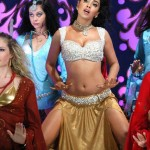 Shriya Saran Hot Item Song Pics in Komaram Puli