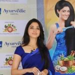 Actress Tamanna @ Parachute Advanced Ayurvedic Hair Oil Launch Stills