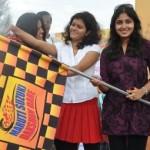 Actress Monica @ Maruthi Suzuki Dakshin Dare 2011 Rally Stills