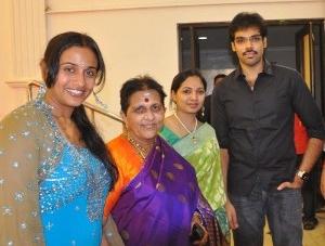 Celebs @ Aparna Bharani Wedding Reception Gallery