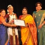 LR Eswari @ Ashwini Priyanka Bharatanatyam Arangetram Stills