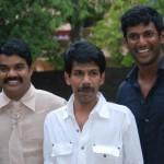 Vishal, Bala, RK @ Avan Ivan Press Show Event Stills