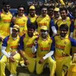 Stars @ Celebrity Cricket League 2011 Match Stills