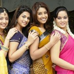 Nagavalli Movie Heroines Stills