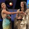 Trisha, Shriya Saran at Vijay TV Awards 2011 Pictures Images