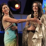 Trisha, Shriya Saran @ Vijay TV Awards 2011