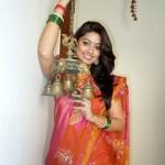 Sneha in Traditional Saree Stills