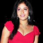 Actress Anjali Hot Stills @ 58th Filmfare Awards South 2011