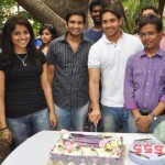 Bharath Birthday Celebrations @ 555 Tamil Movie Shooting Spot