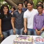 Bharath Birthday Celebrations @ 555 Tamil Movie Shooting Spot