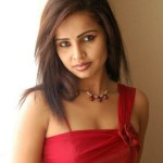Hasika Hot Photo Shoot in Red Dress