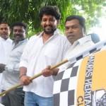 Vidharth, Mayilsamy, Karunas @ Heritage Car Rally Stills