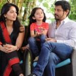 Vikram, Anushka, Baby Sara @ Nanna Team Meet Taj Banjara Hyderabad