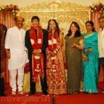 Rajini @ Actor Vishnu Wedding Reception Stills