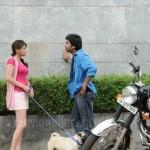 Sneha Ullal, Simbu Vaanam Movie On location Stills