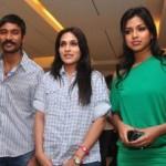 Dhanush Amala Paul 3 Moonu Movie Press Meet Stills