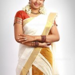 Actress Anu Hot Saree Stills