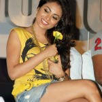 Meenakshi Hot Pics @ Mandhira Punnagai Audio Launch