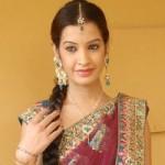 Model Diksha Panth Saree Photo Shoot Pics