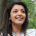 Kajal Agarwal Cute Smile Photoshoot Stills