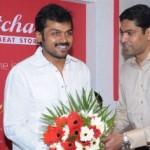Karthik Sivakumar Pics @ BatchaBai Meat Store Launch