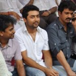 Kollywood Fasting in Support for Anna Hazare