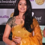 Sneha In Yellow Saree Photos