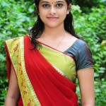 Sri Divya in Saree Photos