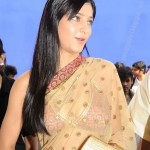 Shruti Haasan Hot Saree Stills