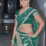 Amrutha Valli Hot Stills in Saree