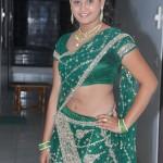 Amrutha Valli Hot Stills in Saree