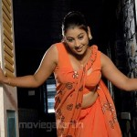 Varshini Hot Saree Stills