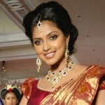 Amala Paul Ramp Walk in Silk Saree