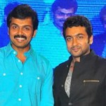 Karthi Suriya Stills @ 7th Sense Audio Launch