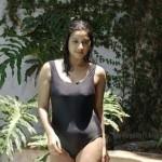 Keerthi Chawla Hot Bikini Swimsuit Stills