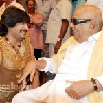 M Karunanidhi @ Ponnar Sankar Movie on Location Stills