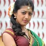 Praneetha Half Saree Stills